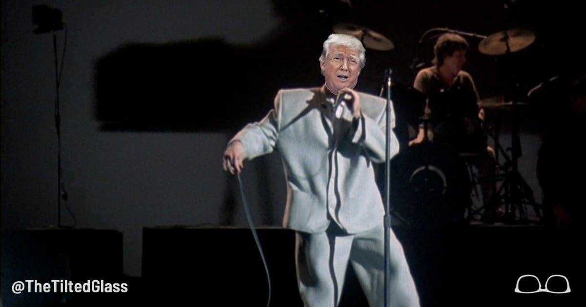 Trump Reveals Mystery of His Big Suit