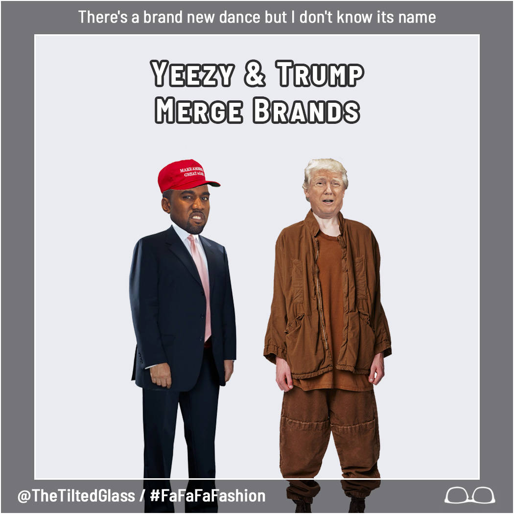Yeezy and Trump Merge Brands