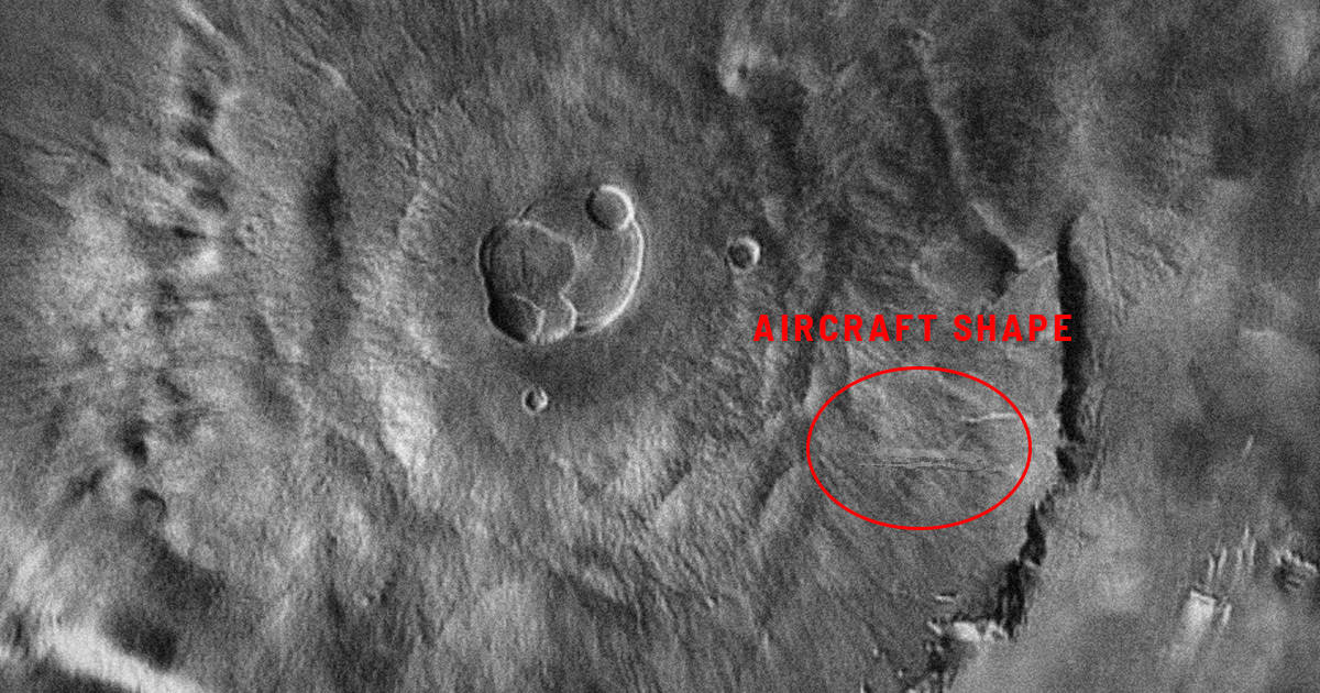 Flight MH370 found... on Google Mars!