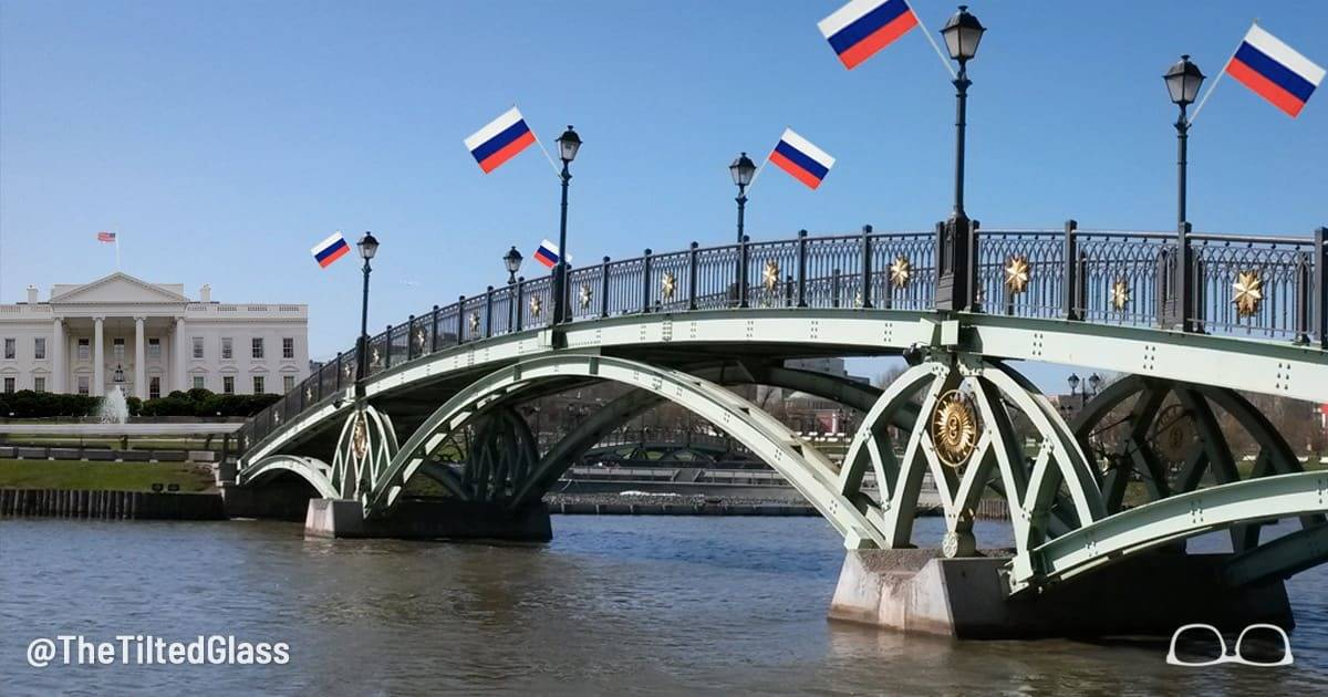 Putin Opens Bridge to White House, Cementing Russia's Hold on Neighbor