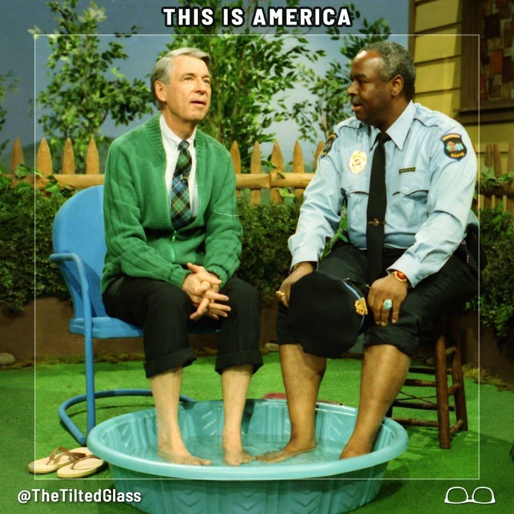 This is America - Quotes of Hope from Mr. Rogers