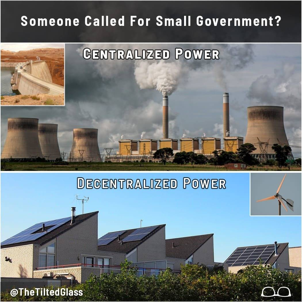 Someone Called For Small Government?