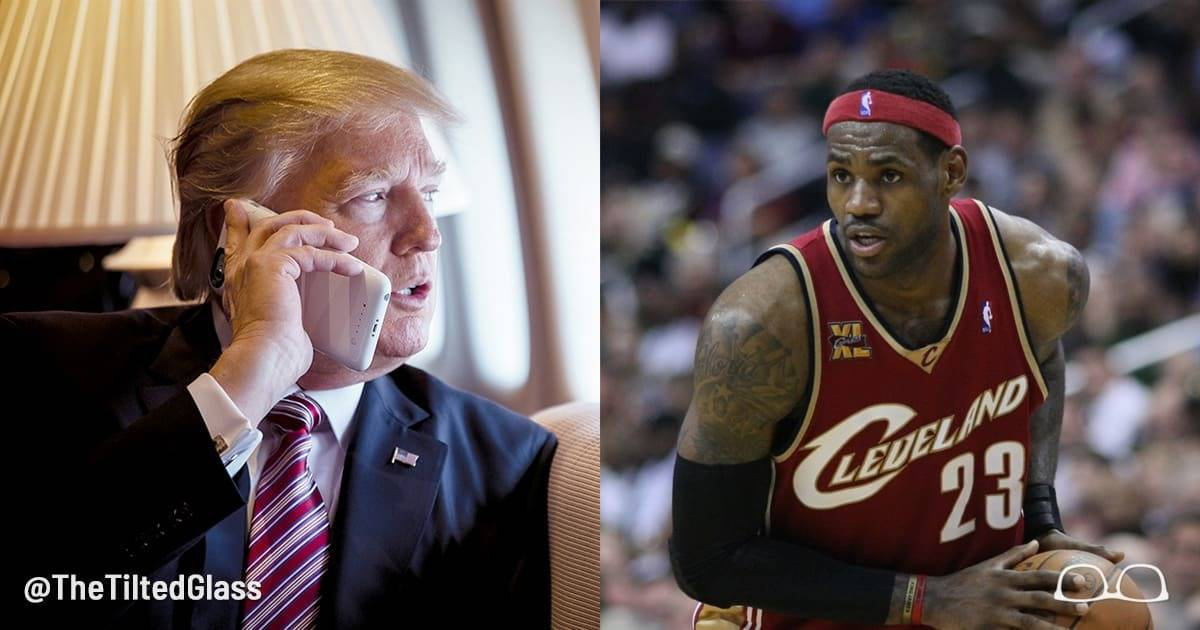 Trump Hijacks News, Media Fails Us - LeBron James Case Study