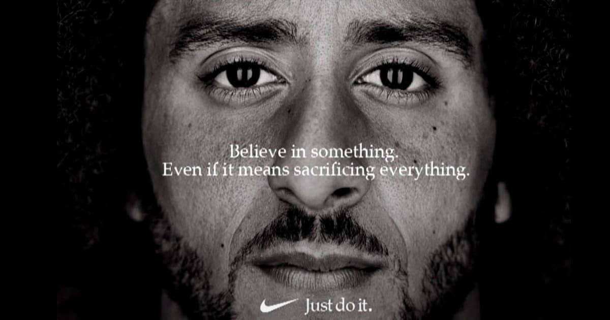 Colin Kaepernick Kneels to Protest Nike Sweatshop Labor