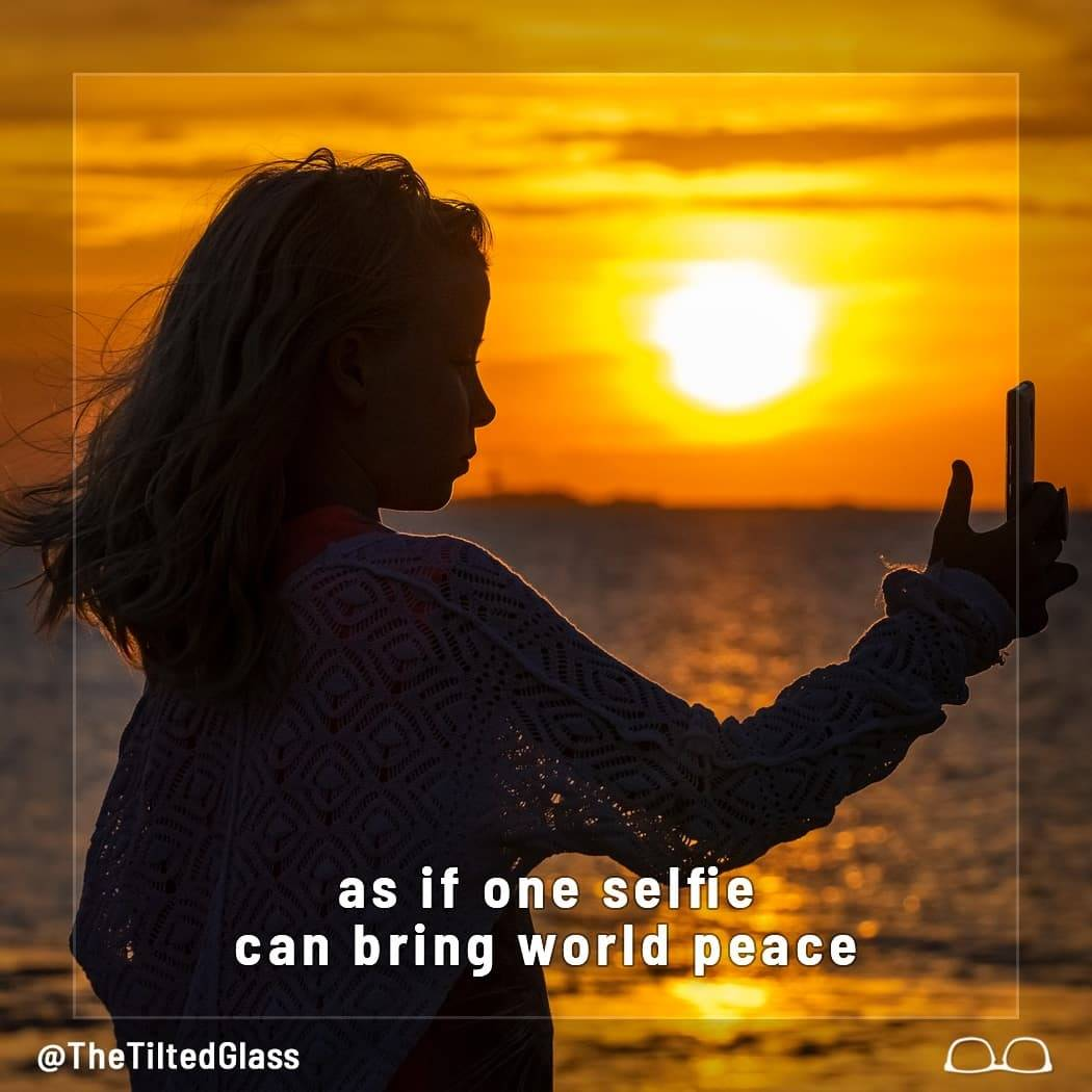 Selfies for World Peace