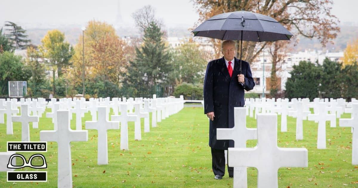 Trump Explains The Rain