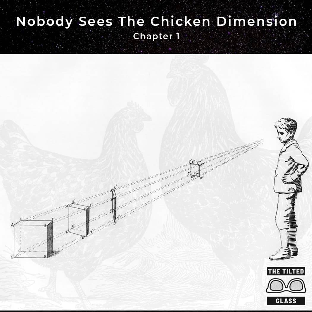 Nobody Sees The Chicken Dimension - Chapter 1 - Plane Sight