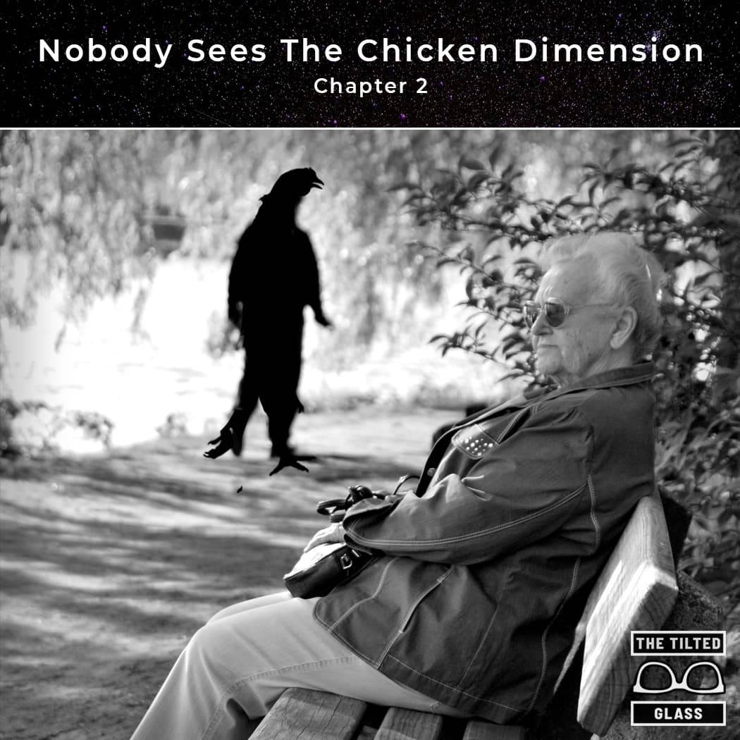Nobody Sees The Chicken Dimension  - Chapter 2 - Park Place