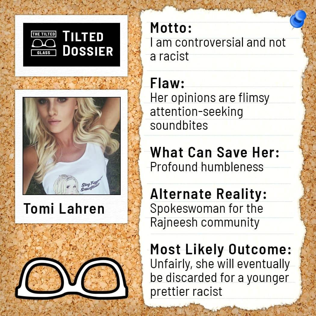 Who is Tomi Lahren? A Dossier Roast
