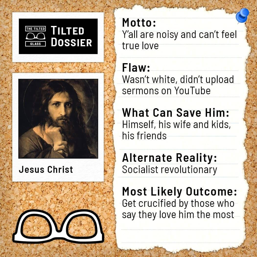 Who is Jesus Christ? A Dossier Roast