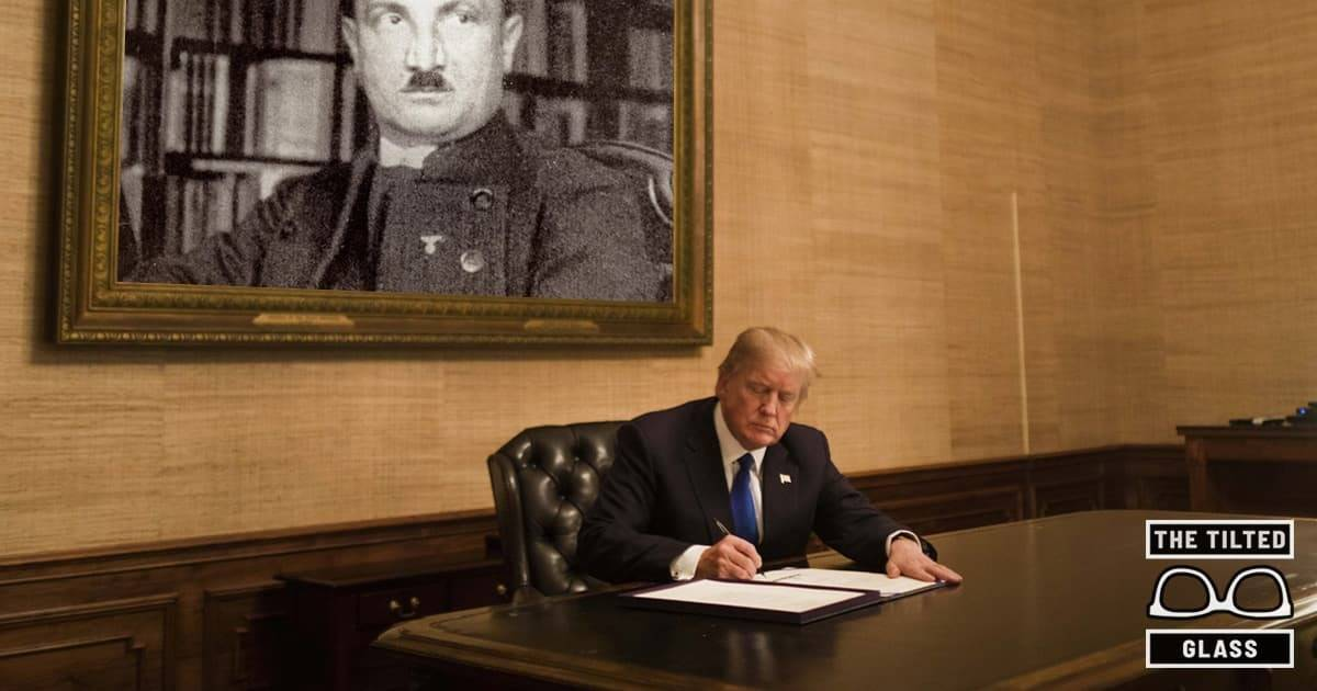 Report: Trump Is Very Smart, Is a Scholar of Martin Heidegger