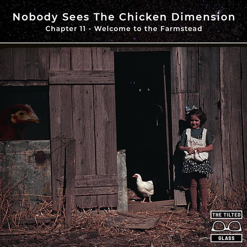 Nobody Sees The Chicken Dimension - Chapter 11 - Welcome to the Farmstead