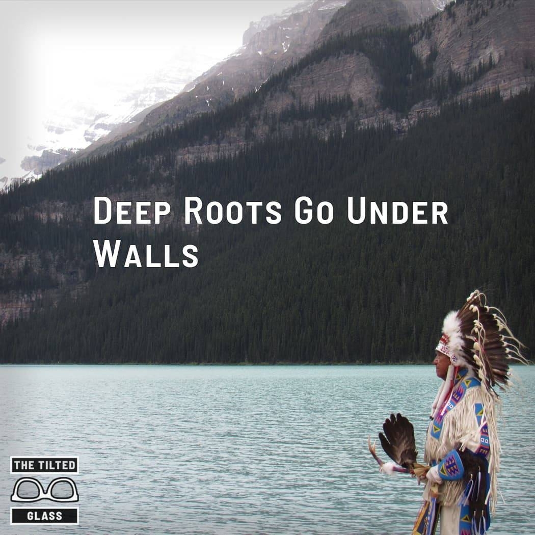 Deep Roots Go Under Walls