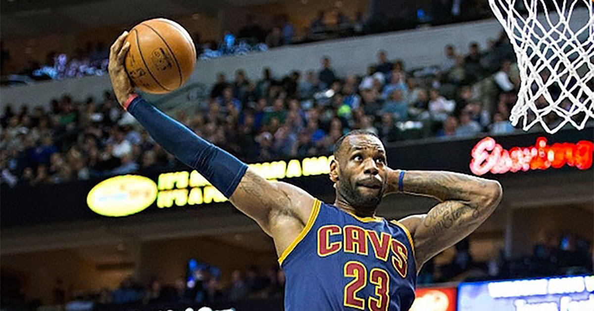LeBron Announces Retirement from Two-Handed Basketball