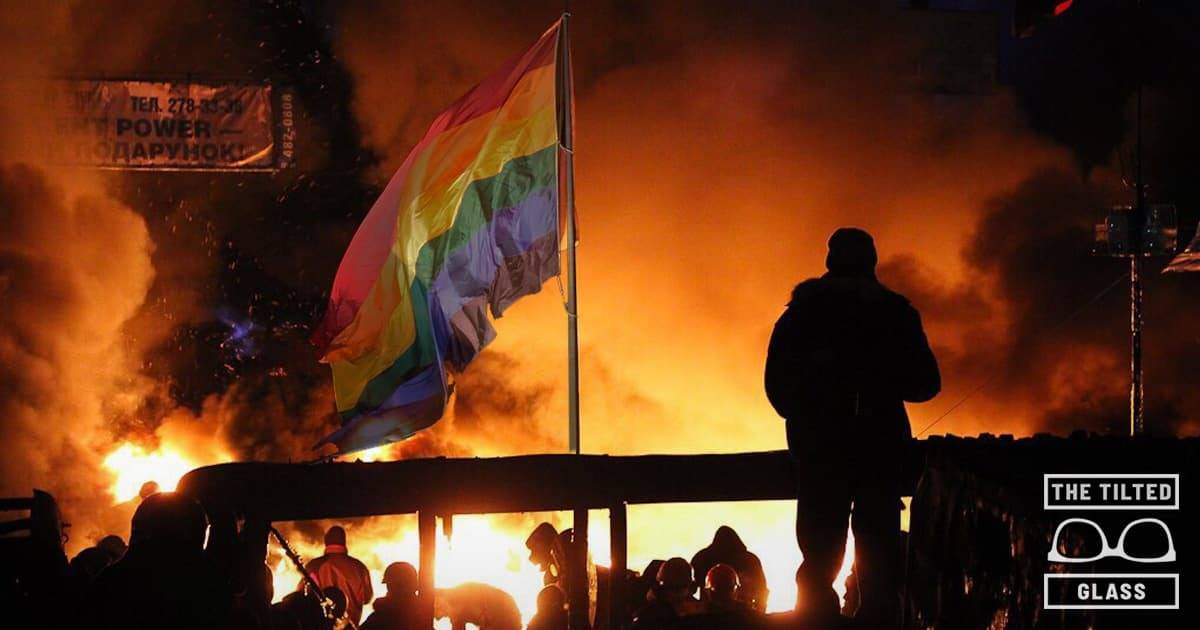 Corporations Celebrate Stonewall with Violent Upheaval of Society