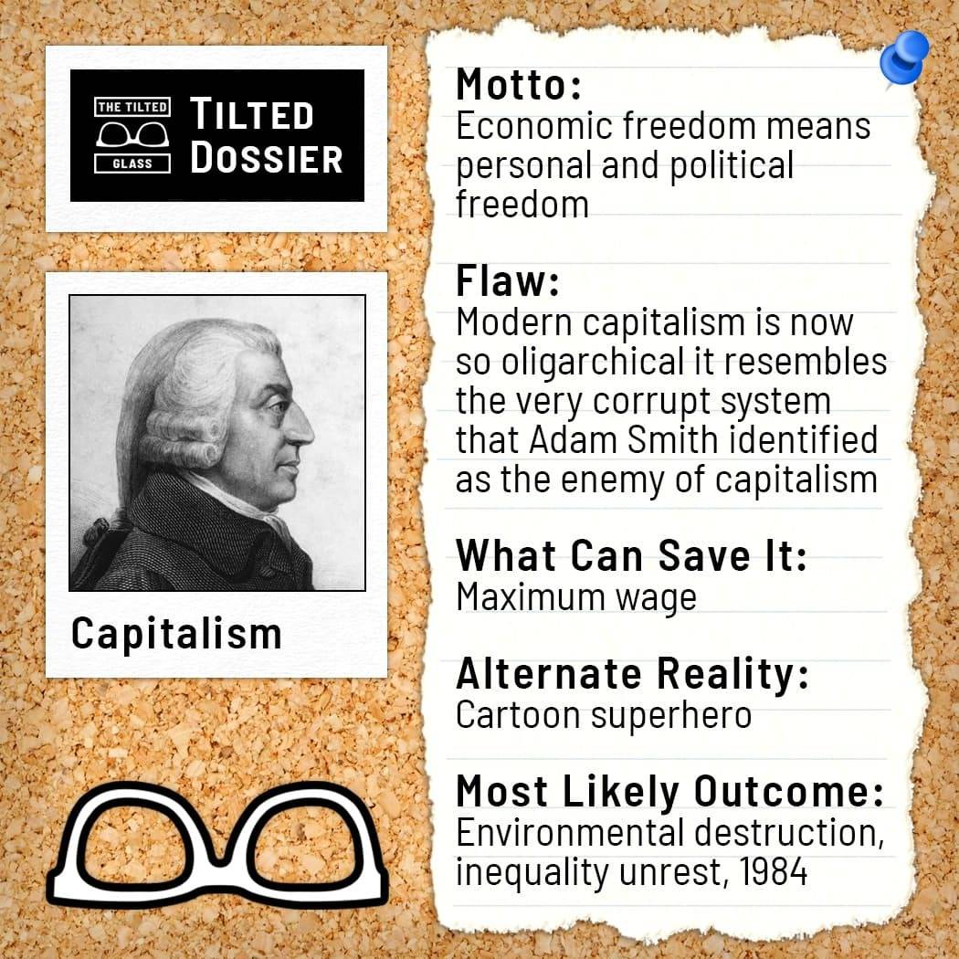 What is Capitalism? A Dossier Roast