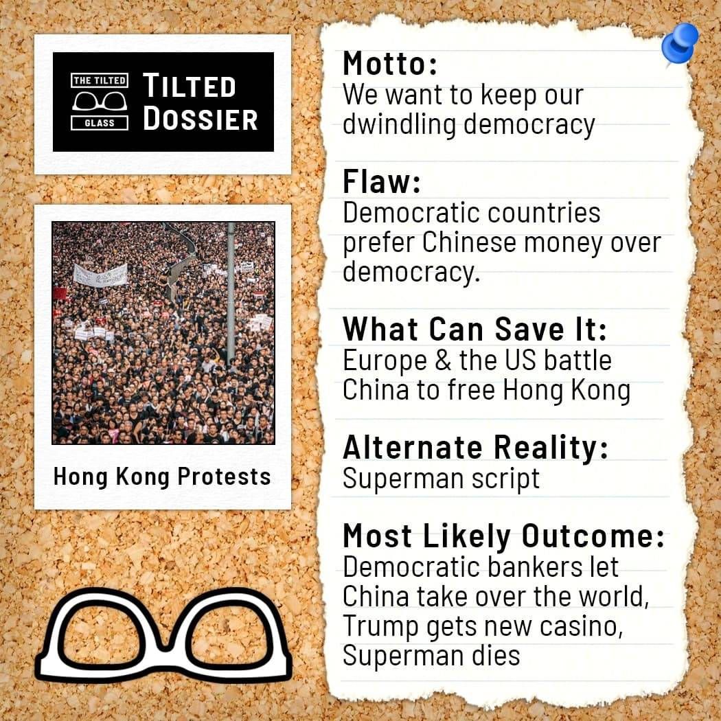 What Are the Hong Kong Protests? A Dossier Roast