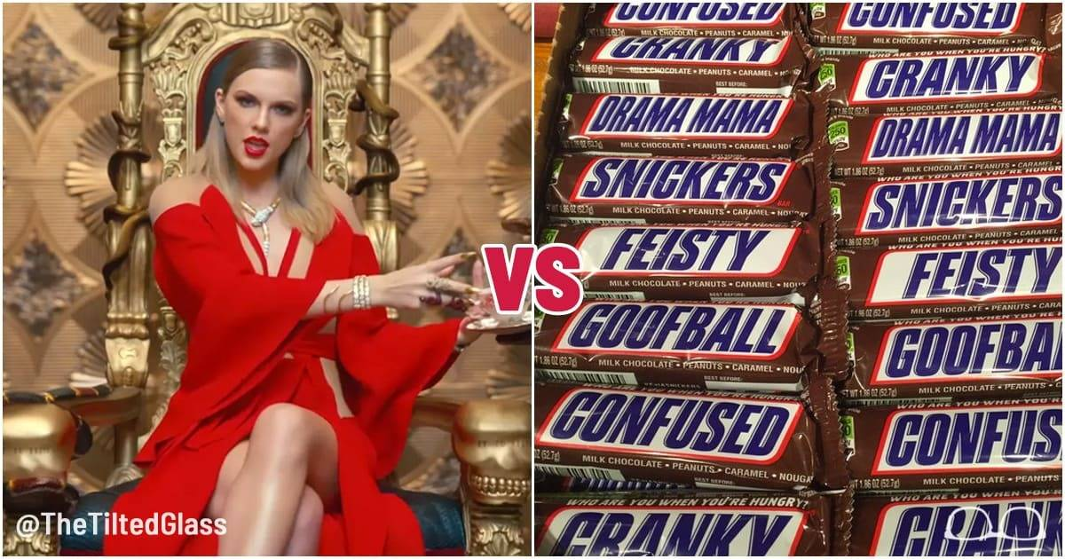 Taylor Swift vs a Snickers Bar: Who is a Better Rapper?