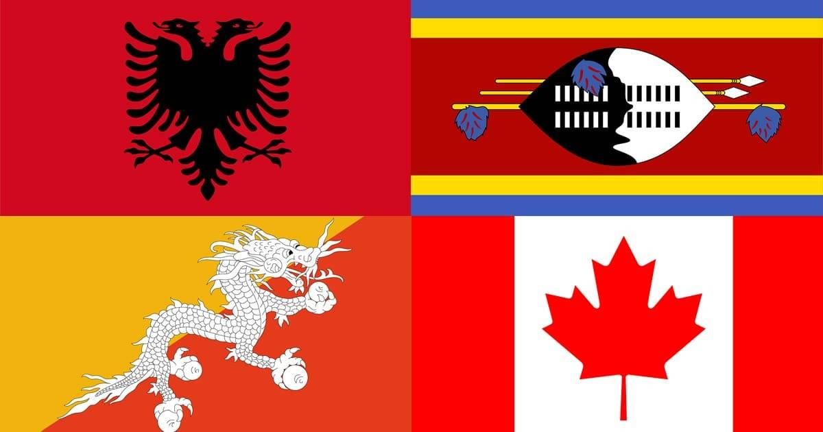 Top 12 Sexiest Flags in the World
