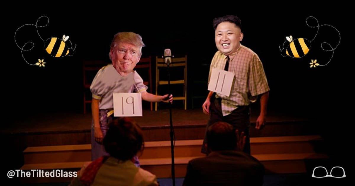 Kim Jong-Un Beats Trump in Korean Spelling Bee