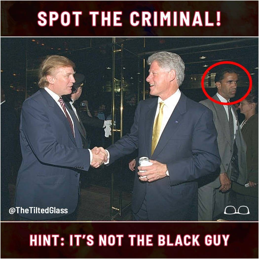 Spot the Criminal! Hint: It's Not the Black Guy